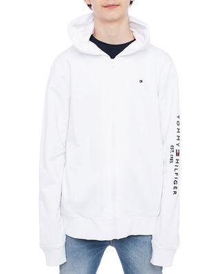 Tommy Hilfiger Essential Hooded Zip Through White