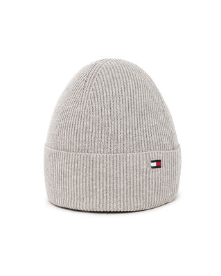 Tommy Hilfiger Essential Knit Beanie Mid Grey Heather