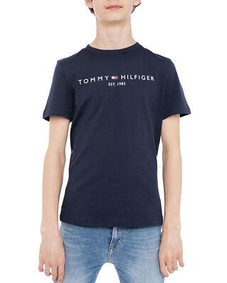 Tommy Hilfiger Junior Essential Tee S/S Twilight Navy