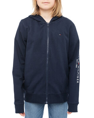 Tommy Hilfiger Essential Zip Hoodie Twilight Navy