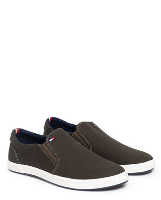 Tommy Hilfiger Iconic Slip On Sneaker Army Green