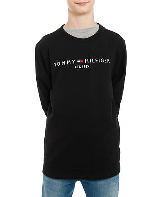 Tommy Hilfiger Junior Essential Cn Sweatshirt Black