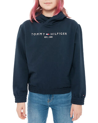 Tommy Hilfiger Junior Essential Hooded Sweatshirt Twilight Navy