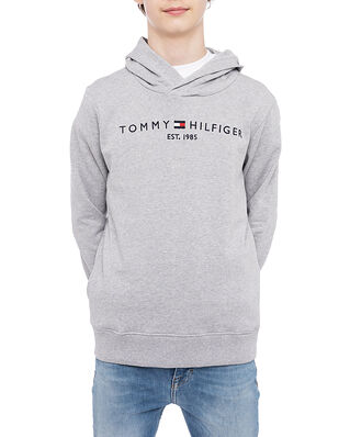 Tommy Hilfiger Junior Essential Hoodie Grey Heather