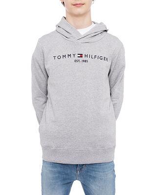Tommy Hilfiger Junior Essential Hoodie Grey Heather