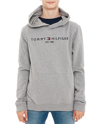 Tommy Hilfiger Junior Essential Hoodie Mid Grey Htr