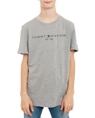 Tommy Hilfiger Junior Essential Tee S/S Mid Grey Htr
