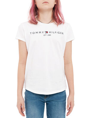 Tommy Hilfiger Junior Essential Tee S/S White