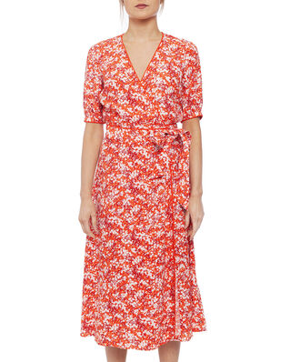 Tommy Hilfiger Leonora Wrap Dress SS Camofloral
