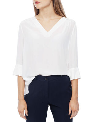 Tommy Hilfiger Lottie Blouse 3/4 Sleeve Ecru