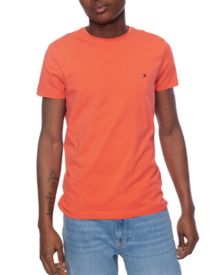 Tommy Hilfiger Stretch Slim Fit Tee Washed Vermillion