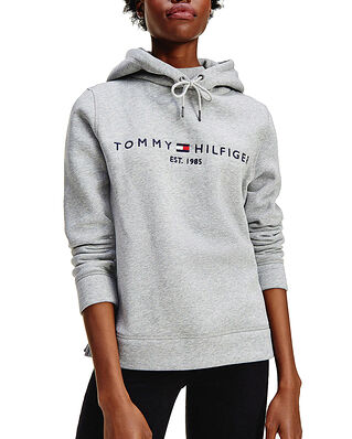 Tommy Hilfiger Th Ess Hilfiger Hoodie Ls Light Grey Heather