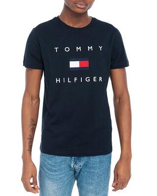 Tommy Hilfiger Tommy Flag Hilfiger Tee Desert Sky
