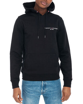 Tommy Hilfiger Tommy Small Logo Hoody Black