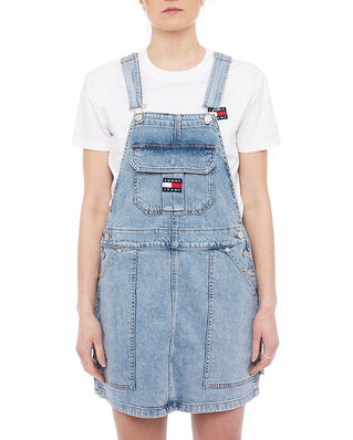 Tommy Jeans Cargo Dungaree Dress Blue