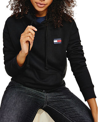 Tommy Jeans Tjw Tommy Badge Hoodie Black