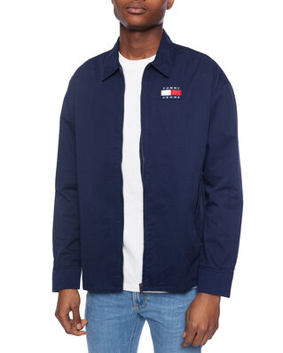 Tommy Jeans Casual Cotton Jacket Twilight Navy