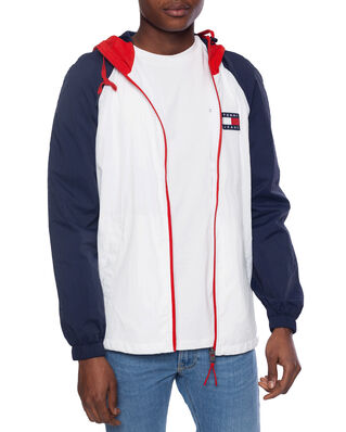 Tommy Jeans Colorblock Zipthrough Jacket White/Multi
