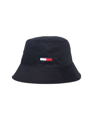 Tommy Jeans Tjm Flag Bucket Hat Black