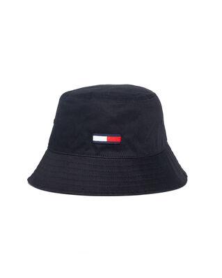Tommy Jeans Tjm Flag Bucket Hat Black