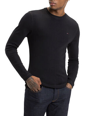 Tommy Jeans Tjm Original Rib Long Sleeve Tee Tommy Black