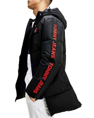 Tommy Jeans Tjm Statement Down Parka Black