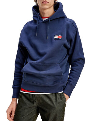 Tommy Jeans Tjm Tommy Badge Hoodie Twilight Navy