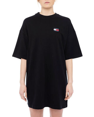 Tommy Jeans TJW Oversized Badge Tee Dress Black