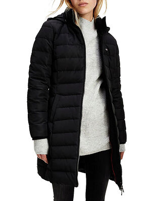 Tommy Jeans Tjw Quilted Down Coat Black