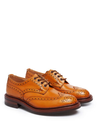 Tricker's Men's Acorn Antique Derby Brogues