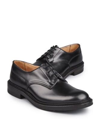 Tricker's Men's Black Box Calf Super Shoes