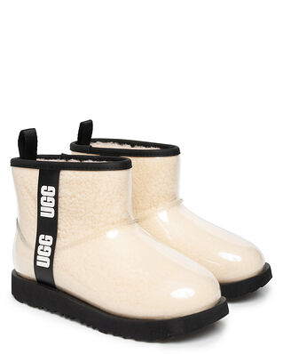 Ugg Junior K Classic Clear Mini II Natural/Black