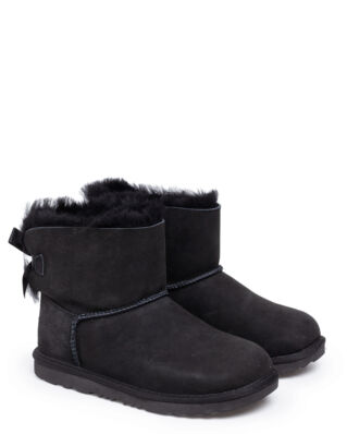 Ugg K Mini Bailey Bow II Black