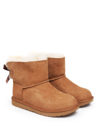 Ugg Junior K Mini Bailey Bow II Chestnut