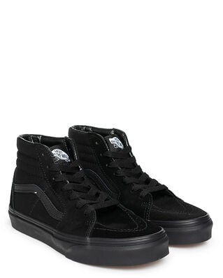 Vans Junior UY SK8-Hi (Suede/Canvas) Black/Black