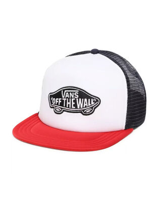 Vans Classic Patch Trucker Racing Red/White