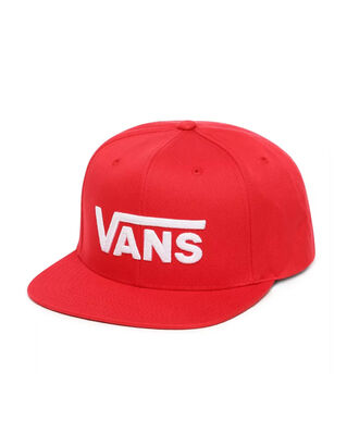 Vans Drop V Ii Snapback Racing Red