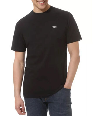 Vans Left Chest Logo Tee Black/White