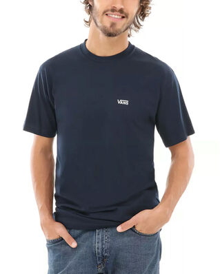 Vans Left Chest Logo Tee Navy/White
