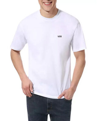 Vans Left Chest Logo Tee White/Black