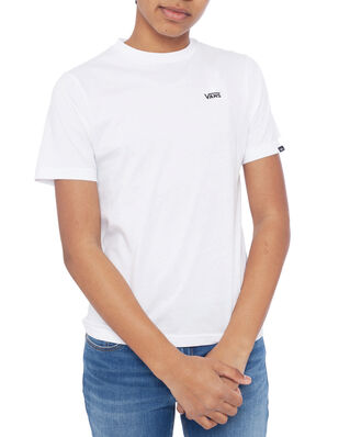 Vans Junior Left Chest Tee Boys White