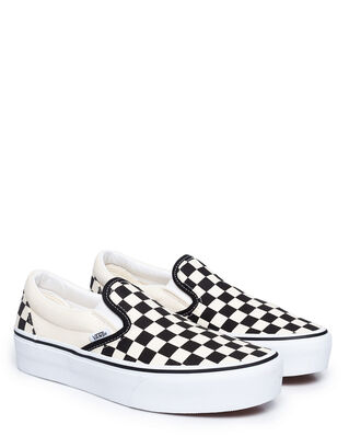 Vans Ua Classic Slip-On Platform Black/White Checkerboard