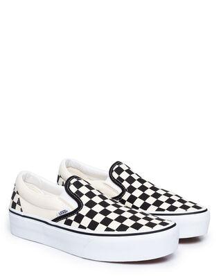 Vans Ua Classic Slip-On Platform Black/White Checkerboard