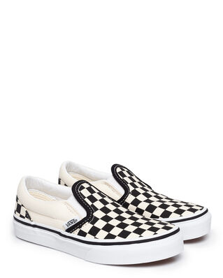 Vans Junior Uy Classic Slip-On Black/White Checkerboard