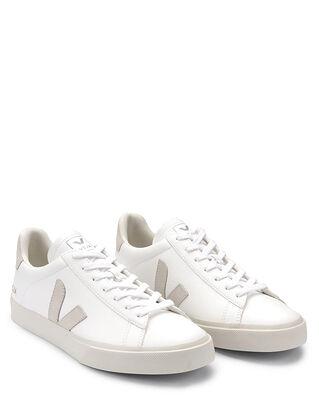 Veja Campo Chromefree Extra-White/Natural-Suede