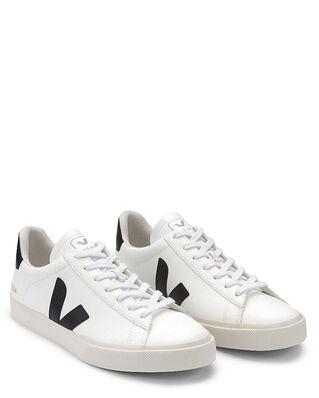 Veja Campo Chromefree Leather White Black