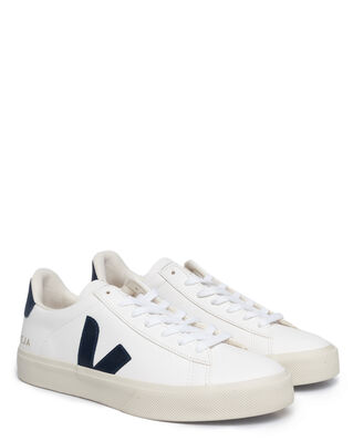 Veja Campo Chromefree Leather White/Nautico
