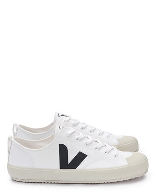 Veja Nova Canvas White Black/White