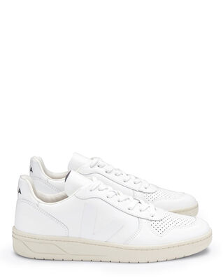 Veja V-10 Leather Extra White