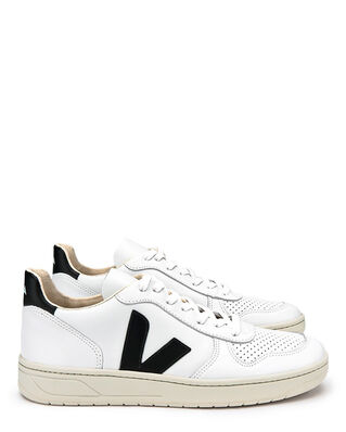 Veja V-10 Leather Extra White/Black